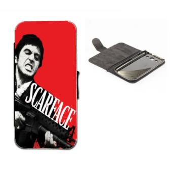 Etui housse portefeuille originale scarface montana 1 swag - Housse clic clac originale ...
