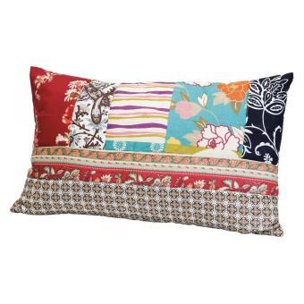 coussin rectangulaire en tissu patchwork ottawa achat prix fnac. Black Bedroom Furniture Sets. Home Design Ideas