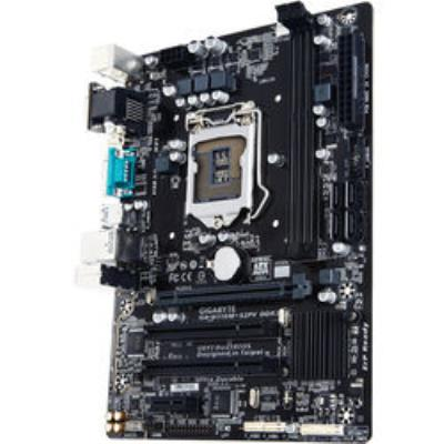 : Carte mère GIGABYTE GA-H110M-S2PV DDR3 - mATX Le modèle GA-H110M-S2PV DDR3 de Gigabyte supporte la 6ème génération de processeurs Intel tout en assurant une compatibilité avec la mémoire DDR3. Vous pouvez ainsi vous équiper avec une carte mère plus puis