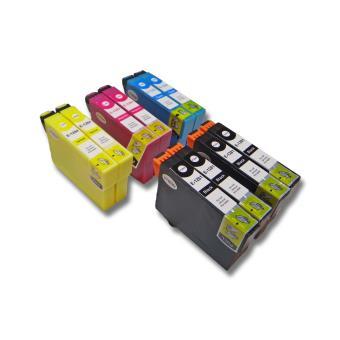 lot de 10 cartouches d 39 encre pour imprimante epson stylus. Black Bedroom Furniture Sets. Home Design Ideas
