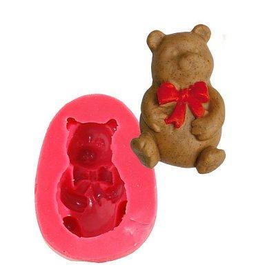 Image du produit ScrapCooking® - Moule en silicone - Moule à pâte à sucre : Ourson