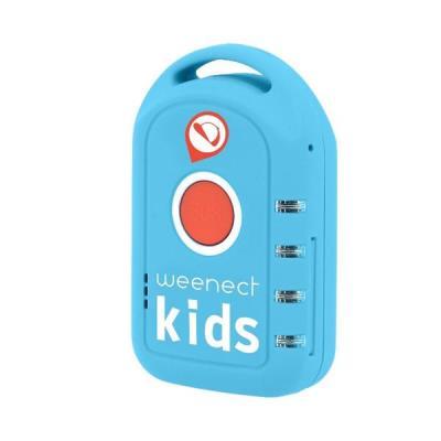 Objets connectés : Description du tracker GPS Weenect Kids Weenect Kid est une balise GPS conçue pour les enfants qui leur permet d´être autonome au quotidien, et de prévenir l´entourage en cas d´urgence. Grâce à ce tracker connecté, vos proches pourront