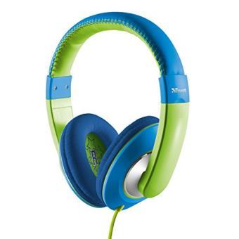 trust sonin casque audio pour enfant bleu vert achat prix fnac. Black Bedroom Furniture Sets. Home Design Ideas
