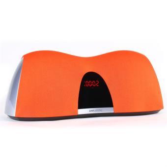 majestic bt enceinte bluetooth design aux orange achat prix fnac. Black Bedroom Furniture Sets. Home Design Ideas