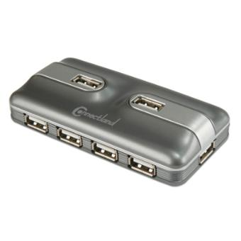 cabling multiprise usb 7 ports hub pour pc et mac. Black Bedroom Furniture Sets. Home Design Ideas