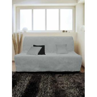 housse matelass e pour canap bz 140x200 cm gris achat prix fnac. Black Bedroom Furniture Sets. Home Design Ideas