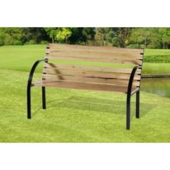 banc en bois et metal design pour jardin ou parc exterieur achat prix fnac. Black Bedroom Furniture Sets. Home Design Ideas