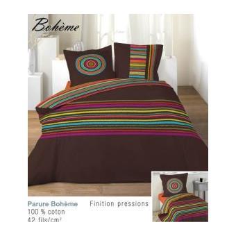 housse de couette 140x200 cm boheme 1to achat prix fnac. Black Bedroom Furniture Sets. Home Design Ideas