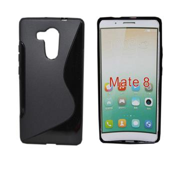 Etui housse coque gel vague s huawei ascend mate 8 noir for Housse huawei mate 8
