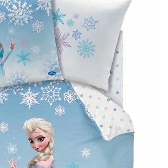 drap housse 90 x 190 cm disney frozen reine des neiges. Black Bedroom Furniture Sets. Home Design Ideas
