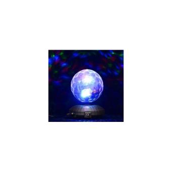 lampe d 39 ambiance disco boule cristal led rotative achat prix fnac. Black Bedroom Furniture Sets. Home Design Ideas
