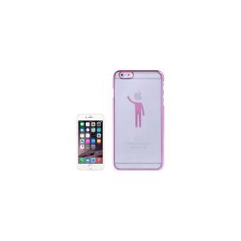 iphone 6 plus coque housse plastique transparent bonhomme magenta achat prix fnac. Black Bedroom Furniture Sets. Home Design Ideas