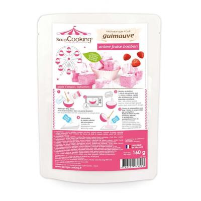 Image du produit Préparation guimauve rose - arôme fraise