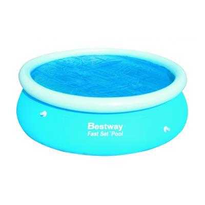 Bâche Solaire Pour Piscine Fast Set Pool Ronde - Dimensions - Diamètre Bâche 455 Cm Pour Diamètre Piscine 549 Cm 150 Grs/m2 pour 61€