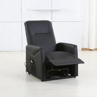 raise fauteuil releveur electrique noir achat prix fnac. Black Bedroom Furniture Sets. Home Design Ideas