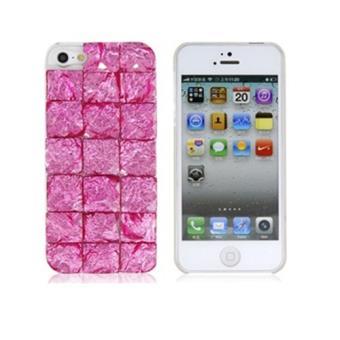 coque relief iphone 5 5s carre rose achat prix fnac. Black Bedroom Furniture Sets. Home Design Ideas