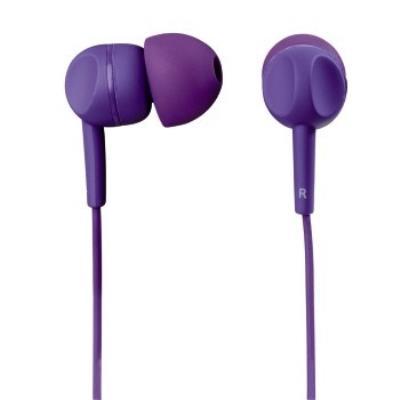 Hama EAR3005PL. Type de casque Binaural, Couleur Violet, Style de casque portable écouteur. Connectivité Avec fil, Touches de fonctionnement Play pause, Track , Compatibilité de marque Universel. Type dinterface 3,5 mm (1 8), Longueur de câble 1,2 m. Fréq