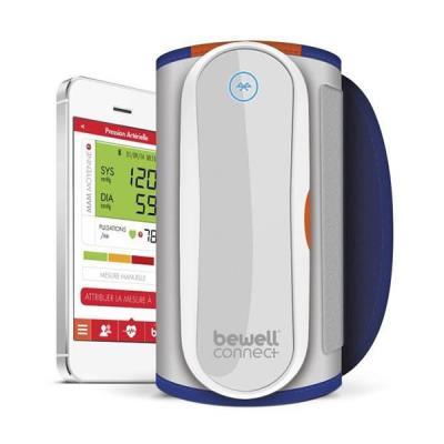 Objets connectés : Description du tensiomètre médical connecté MWI BLE 4.0 Grâce à sa technologie MAM (Mesure Artérielle Moyenne), My Tensio calcule automatiquement la moyenne de trois mesures consécutives pour vous offrir le résultat le plus fiable possi