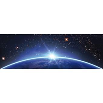 espace et univers poster reproduction ciel toil sur l 39 horizon terrestre 53x158 cm top. Black Bedroom Furniture Sets. Home Design Ideas