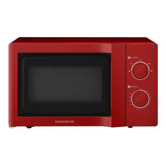 Daewoo kor 6l65ed four micro ondes monofonction pose libre rouge achat prix fnac - Four micro onde rouge ...