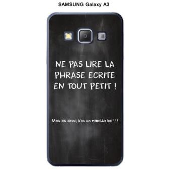 coque samsung galaxy a3 achat prix fnac. Black Bedroom Furniture Sets. Home Design Ideas