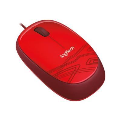 Une souris filaire au design décontracté et coloré à un prix abordable.