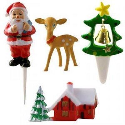 Image du produit ScrapCooking® - Sujets de décoration pour gâteaux - Noël