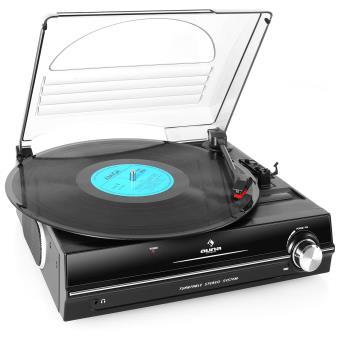 auna 928 platine vinyle haut parleurs int gr s achat. Black Bedroom Furniture Sets. Home Design Ideas