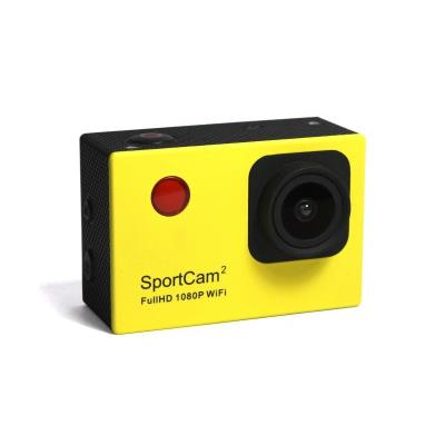 Reekin SportCam2 WiFi. le caméscope ultime daction pour pratiquement tous les sports. comme le VTT. moto. escalade. parapente. skateboard et de nombreux autres sports. La SportCam2 WiFi films tous vos exploits sportifs. La SportCam WiFi de Reekin ne vous