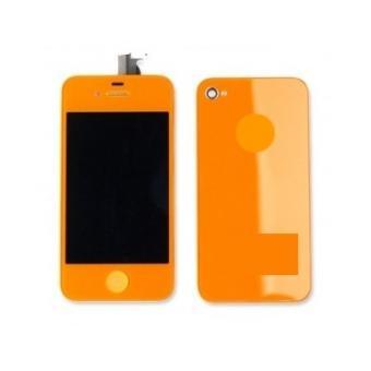 kit couleur iphone 4s orange achat prix fnac. Black Bedroom Furniture Sets. Home Design Ideas