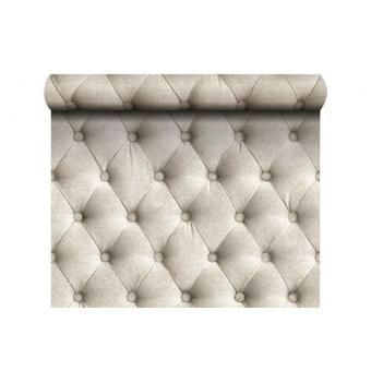papier peint capitonn effet tissu lin ficelle achat prix fnac. Black Bedroom Furniture Sets. Home Design Ideas