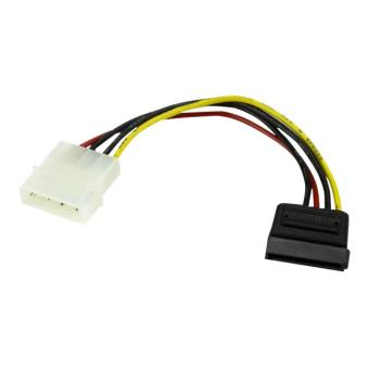 Startech Com 6in 4 Pin Molex To Sata Power Cable Adapter