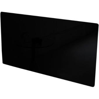 the vitreo plaque de radiateur verre noir taille m 1200 mm achat prix fnac. Black Bedroom Furniture Sets. Home Design Ideas
