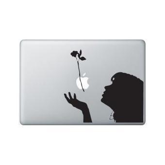 stickers macbook fille nature macbook air 11 pouces bleu turquoise achat prix fnac. Black Bedroom Furniture Sets. Home Design Ideas