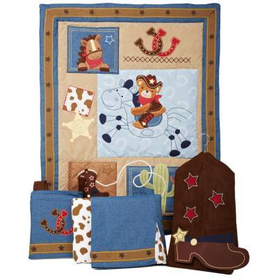 Ensemble de literie luxe pour enfants (pack de 5 pièces), 48.3 x 48.3 x 15.2 cm -PEGANE- pour 358€
