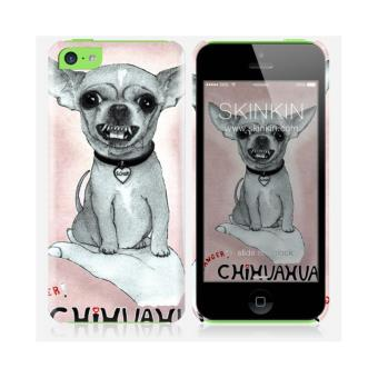 iPhone 5C de chez Skinkin Design original : Chihuahua par Barruf