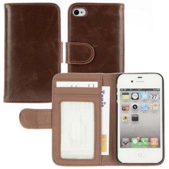 Coque housse etui iphone 4 4s portefeuille porte carte - Coque porte carte iphone se ...