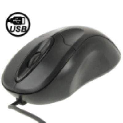 Souris Optique USB Filaire Noir
