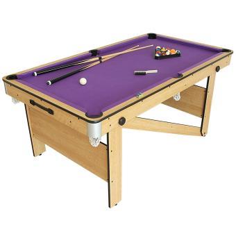 Riley cp 6ag table de billard 6 pieds pliable achat - Table de billard moderne ...