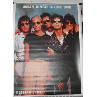 rolling stones urban jungle 1990 61x86cm affiche poster concert envoi roul top prix fnac. Black Bedroom Furniture Sets. Home Design Ideas