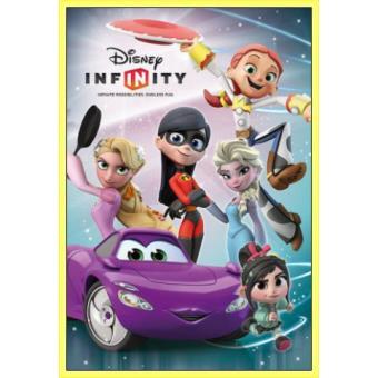 votre Poster Encadré: Walt Disney Infinity, Girls (91x61 cm), Cadre