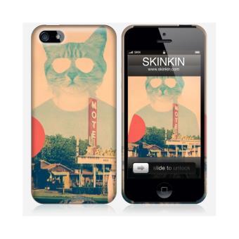 coque iphone 5 et 5s de chez skinkin design original the cat par ali gulec achat prix fnac. Black Bedroom Furniture Sets. Home Design Ideas