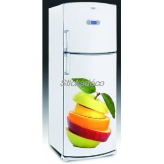 sticker frigidaire frigo fruit dimensions 60x90cm top. Black Bedroom Furniture Sets. Home Design Ideas