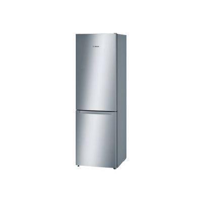 Bosch Serie 2 KGN36NL30 - réfrigérateur / congélateur - congélateur bas - pose libre - inox optique