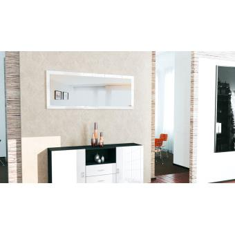 Miroir mural blanc 139 cm achat prix fnac for Miroir mural 200 cm