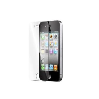 vitre protectrice avant en verre tremp iphone 4 4s achat prix fnac. Black Bedroom Furniture Sets. Home Design Ideas