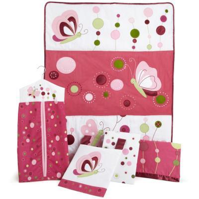 Ensemble de literie le tourbillon de framboises pour enfants (Pack de 5 pièces), 48.3 x 48.3 x 15.2 cm -PEGANE- pour 328€