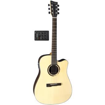 guitares acoustiques vgs r 10 rose folk