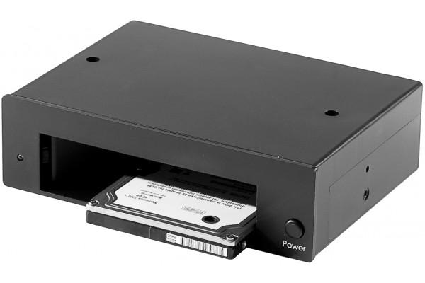 Aussi pratique qu´une docking station de bureau mais intégré à votre ordinateur comme un rack amovible. Ce socle permet de recevoir un disque 3,5 ou 2,5 SATA I ou SATA II. La connectique interne est exactement la meme que celle de votre disque dur et est