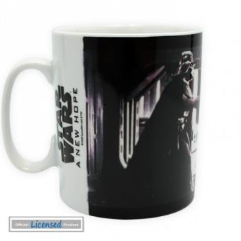 mp Star Wars Tasse A Cafe Mug Un Nouvel Espoir Obi Wan Kenobi Contre Dark Vador x cm